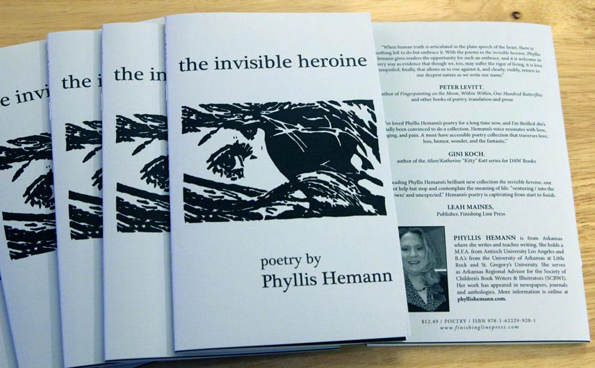 the invisible heroine by Phyllis Hemann
